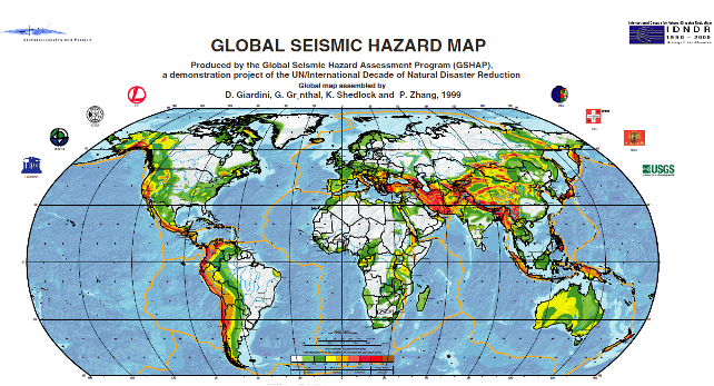 Global Seismic Hazard Map